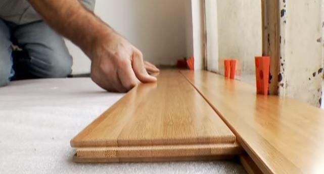 Instalar y resanar pisos de madera
