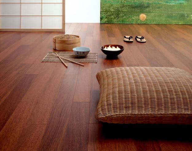 Historia del piso laminado