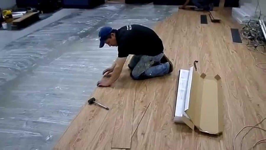 Tipos de pisos de PVC y su instalación